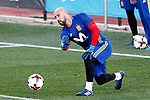 Spain's Pepe Reina during training session. March 20,2017.(ALTERPHOTOS/Acero)