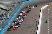 2017 NASCAR Xfinity Series<br /> DC Solar 200<br /> Phoenix International Raceway, Avondale, AZ USA<br /> Saturday 18 March 2017<br /> Erik Jones, Reser's Main St Bistro Toyota Camry leads Justin Allgaier at a restart<br /> World Copyright: Lesley Ann Miller/LAT Images<br /> ref: Digital Image lam_170318PHX16143