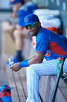 AZL Cubs 2 Widimer Joaquin (9) during an Arizona League game against the AZL Dbacks on June 25, 2019 at Sloan Park in Mesa, Arizona. AZL Cubs 2 defeated the AZL Dbacks 4-0. (Zachary Lucy/Four Seam Images)