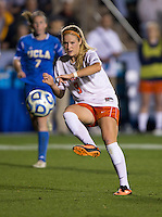 Makenzy Doniak. UCLA advanced on penalty kicks after defeating Virginia, 1-1, in regulation time at the NCAA Women's College Cup semifinals at WakeMed Soccer Park in Cary, NC.