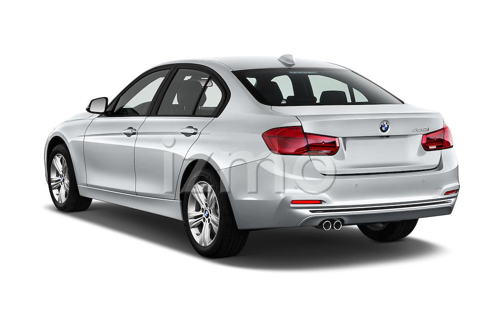 Car pictures of rear three quarter view of 2017 BMW 3-Series 330i 4 Door Sedan Angular Rear