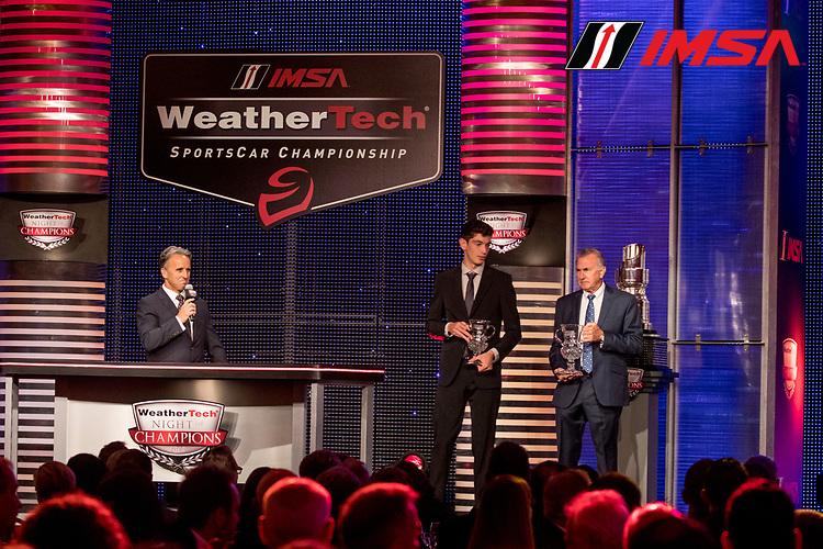 #38 Performance Tech Motorsports ORECA LMP2, Kyle Masson, IMSA WeatherTech Awards Banquet, Chateau Elan, Braselton, GA, October 2019.