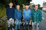 Enjoying Camp Horse Fair on Monday, l to r: Patrick O'Sullivan (Dingle), Lar Griffin (Camp), Ger Fitzgerald (Inch), Jason and John Joe O'Donnell (Camp).