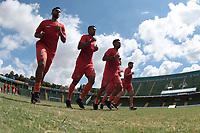 Campinas (SP), 03/01/2020 - Futebol / Guarani - A equipe do Guarani realizou atividades físicas no estádio Brinco de Ouro, na manhã desta sexta-feira (3), na cidade de Campinas (SP).