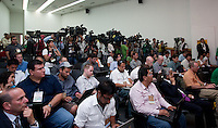 Press Conference. USA Men's National Team loses to Mexico 2-1, August 12, 2009 at Estadio Azteca, Mexico City, Mexico. .   .