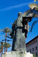 Spanien, Mallorca, Denkmal des Dichters Ramon Llull in Palma de Mallorca