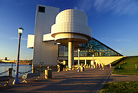 Cleveland, hall of fame, rock 'n roll, OH, Ohio, Rock and Roll Hall of Fame and Museum.