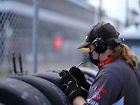 #54: Michael Johnson Racing Hyundai Veloster N TCR, TCR: Michael Johnson, Stephen Simpson: tire technician, tires, michelin