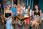 Enjoying the evening in Benners on Saturday, l to r: Aoife Wallace, Sinead Lynch, Riona Walsh, Kayley Moriarty, Dearbhla Lynch and Ruby Verling.
