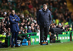 Celtic v St Johnstone…25.01.17     SPFL    Celtic Park<br />Tommy Wright watches the game<br />Picture by Graeme Hart.<br />Copyright Perthshire Picture Agency<br />Tel: 01738 623350  Mobile: 07990 594431