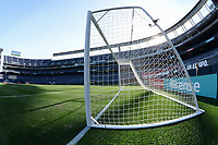 San Diego, CA - Sunday January 21, 2018: SDCCU Stadium prior to an international friendly between the women's national teams of the United States (USA) and Denmark (DEN) at SDCCU Stadium.