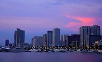 Manila Bay Skyline Philippines