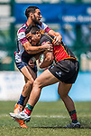Newedge Club vs Devils Own Wanderers during day 2 of the 2014 GFI HKFC Tens at the Hong Kong Football Club on 27 March 2014. Photo by Juan Flor / Power Sport Images