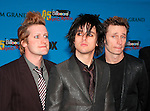 Green Day at Arrivals for the 2005 Billboard Music Awards at MGM Grand in Las Vegas, December 6th 2005...Photo by Chris Walter/Photofeatures