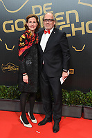 20180207 – BRUSSELS ,  BELGIUM : Joseph Allijns (R) pictured during the  64nd men edition of the Golden Shoe award ceremony and 2nd Women's edition, Wednesday 7 February 2018, in Brussels Heyzel Palace 12. The Golden Shoe (Gouden Schoen / Soulier d'Or) is an award for the best soccer player of the Belgian Jupiler Pro League championship during the year 2017. The female edition is the second in Belgium.  PHOTO DIRK VUYLSTEKE | Sportpix.be