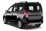 Car pictures of rear three quarter view of a 2015 Dacia Dokker Stepway 5 Door Minimpv Angular Rear