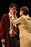 Actor Sergio Lopez and Liliana Guido perform the play An Enemy of the People by Henrik Ibsen at the Teatto El Galeon, July 28, 2008.  The play is directed by Raquel Seoane. The theater company Contigo... America started its work on 1981 in Mexico. Photo by Heriberto Rodriguez