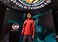 Rotterdam, The Netherlands, 12 Februari 2019, ABNAMRO World Tennis Tournament, Ahoy, first round singles: David Goffen (BEL),<br /> Photo: www.tennisimages.com/Henk Koster