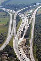 Deutschland, Hamburg, Autobahn, BAB Kreuz Hamburg Ost, A26, A1, Strassenbau, Verkehrswege