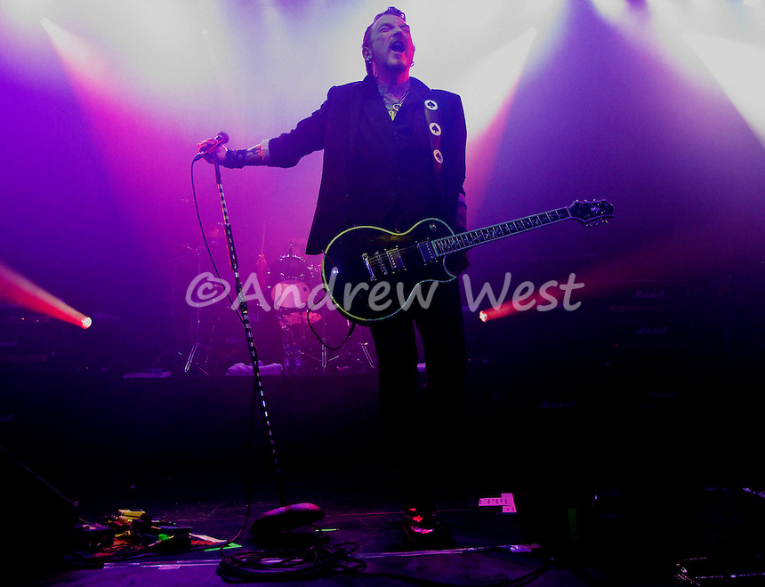 The Wildhearts are a British rock group originally formed in Newcastle upon Tyne, England. The band's sound is a mixture of hard rock and melodic pop music<br /> In the band's turbulent and unpredictable history, band members have regularly been replaced, with the only constant member being the band's founder Ginger (birth name David Walls) - the singer, guitarist, and predominant songwriter. Several band members have appeared in the line-up more than once. The band has also been split up or placed on hiatus by Ginger multiple times. The most recent recording line-up convened in 2006 but went on hiatus in late 2010. Ginger reformed the band once again for a special one-time appearance in December 2012, which has been extended to touring in 2013 and 2014.<br /> <br /> Current members[edit]<br /> Ginger - vocals, guitar (1990–1997, 2001-2010, 2012-present)<br /> CJ - guitar, vocals (1990–1994, 2001–2010, 2012-present)<br /> Ritch Battersby - Drums (1993-1997, 2005-2010, 2012-present)<br /> Scott Sorry - bass, vocals (2007-2012, 2014–present)