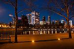 Retro Images of Bellevue Skyline