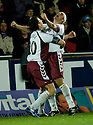 13/11/2006       Copyright Pic: James Stewart.File Name :sct_jspa08_falkirk_v_hearts.ANDRIUS VELICKA CELEBRATES SCORING HEARTS GOAL.James Stewart Photo Agency 19 Carronlea Drive, Falkirk. FK2 8DN      Vat Reg No. 607 6932 25.Office     : +44 (0)1324 570906     .Mobile   : +44 (0)7721 416997.Fax         : +44 (0)1324 570906.E-mail  :  jim@jspa.co.uk.If you require further information then contact Jim Stewart on any of the numbers above.........