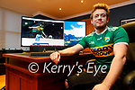 Aidan O'Caroll of Avalanche Designsdisplaying the new Kerry GAA website which was launched on Friday.
