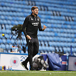 25.07.2020 Rangers v Coventry City: Steven Gerrard