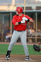 Matt Sweeney - AZL Angels (2009 Arizona League) - Sweeney was rehabbing an injury in a game against the AZL Royals at Surprise, AZ - 08/15/2009..Photo by:  Bill Mitchell/Four Seam Images..