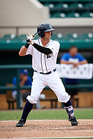 Detroit Tigers Garrett McCain (39) at bat during an Instructional League game against the Toronto Blue Jays on October 12, 2017 at Joker Marchant Stadium in Lakeland, Florida.  (Mike Janes/Four Seam Images)