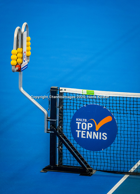 Amstelveen, Netherlands, 18  December, 2020, National Tennis Center, NTC, NK Indoor, National  Indoor Tennis Championships,   :  scoreboard<br /> Photo: Henk Koster/tennisimages.com