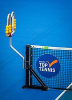 Amstelveen, Netherlands, 18  December, 2020, National Tennis Center, NTC, NK Indoor, National  Indoor Tennis Championships,   :  scoreboard<br /> Photo: Henk Koster/tennisimages.com