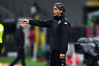 Filippo Inzaghi coach of Benevento Calcio reacts during the Serie A football match between AC Milan and Benevento Calcio at San Siro Stadium in Milano  (Italy), May 1st, 2021. Photo Matteo Gribaudi / Image Sport / Insidefoto