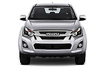 Car photography straight front view of a 2019 Isuzu D-Max LSX 5 Door Pick-up Front View