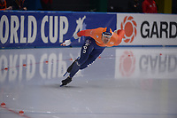 SPEEDSKATING: 24-11-2019 Tomaszów Mazowiecki (POL), ISU World Cup Arena Lodowa, 500m Men Division A, Hein Otterspeer (NED), ©photo Martin de Jong