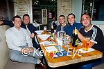 Enjoying the evening in Benners on Friday, l to r: Richard Nolan, Padraig O'Leary, Tom and Maurice McElligott and Adam Condon (All Killynn)