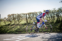 Mathieu Burgaudeau (FRA/Total Direct Energie) up the Côte de La Redoute<br /> <br /> 107th Liège-Bastogne-Liège 2021 (1.UWT)<br /> 1 day race from Liège to Liège (259km)<br /> <br /> ©kramon
