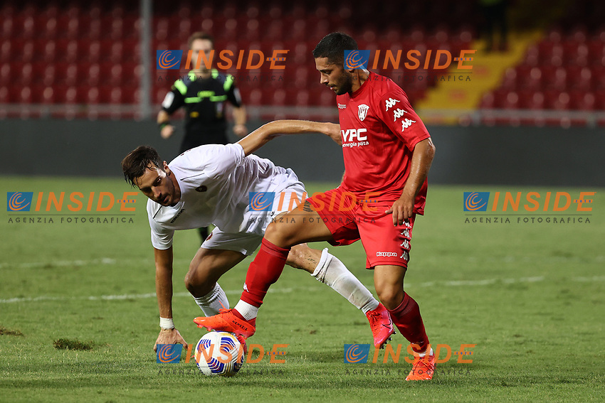 Gianluca Caprari of SC Benevento<br /> during the friendly football match between SC Benevento Calcio and SC Reggina 1914 at stadio Ciro Vigorito in Benevento, Italy, September 12, 2020. <br /> Photo Cesare Purini / Insidefoto