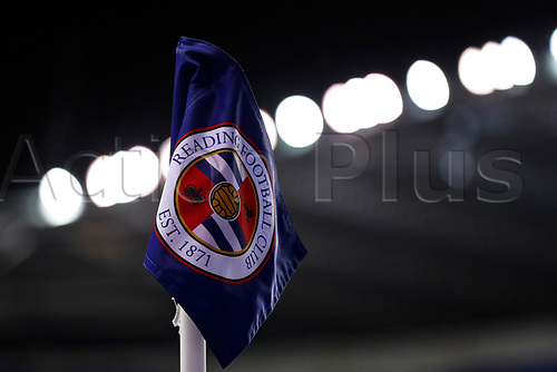 4th November 2020; Madejski Stadium, Reading, Berkshire, England; English Football League Championship Football, Reading versus Preston North End; The Reading corner flag