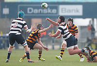 2015 ULSTER SCHOOLS CUP FINAL | Tuesday 17th March 2015<br /> <br /> XXXXX during the 2015 Ulster Schools Cup Final between RBAI and Wallace High School at the Kingspan Stadium, Ravenhill Park, Belfast, Count Down, Northern Ireland.<br /> <br /> Picture credit: John Dickson / DICKSONDIGITAL