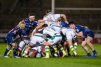 20th November 2020; AJ Bell Stadium, Salford, Lancashire, England; English Premiership Rugby, Sale Sharks versus Northampton Saints; Henry Taylor of Northampton Saints looks to get the ball out of the scrum