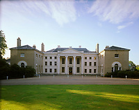The North front of Kenwood House, Hampstead, London, UK