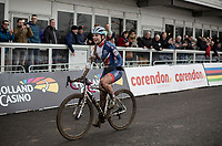 Evie Richards (GBR) is the new U23 Women's World Champion <br /> <br /> Women U23 Race<br /> UCI CX Worlds 2018<br /> Valkenburg - The Netherlands