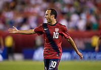 Landon Donovan. The USMNT tied Mexico, 1-1, during their game at Lincoln Financial Field in Philadelphia, PA.