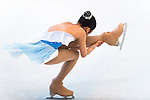 Figure skater competes during the Asian Junior Figure Skating Challenge Hong Kong 2016 at Kowloon Tong's Festival Walk Glacier on 03 October 2016, in Hong Kong, China. Photo by Marcio Machado / Power Sport Images