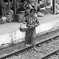 Train to Inle lake,,from Thazi ,Myanmar, 2018