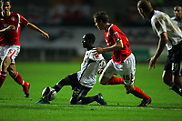 ATTENTION SPORTS PICTURE DESK<br /> Pictured: Nathan Dyer of Swansea City in action<br /> Re: Coca Cola Championship, Swansea City Football Club v Nottingham Forest at the Liberty Stadium, Swansea, south Wales. Saturday 12 December 2009