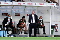 1st September 2021; Faro, Algarve, Portugal:  Portugals head coach Fernando Santlooks on during the FIFA World Cup,  2022 European qualifying round group A football match between Portugal and Ireland in Faro, Portugal