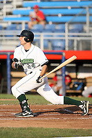 June 27th 2008:  Ben Lasater of the Jamestown Jammers, Class-A affiliate of the Florida Marlins, during a game at Russell Diethrick Park in Jamestown, NY.  Photo by:  Mike Janes/Four Seam Images