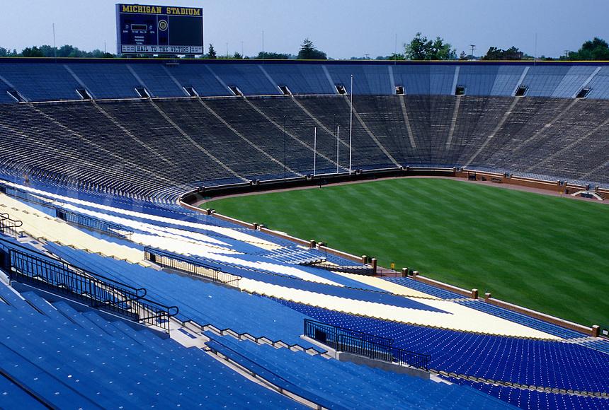 stadium, Ann Arbor, MI, university, UM, Michigan, University of Michigan Football Stadium